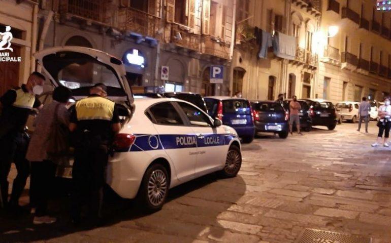 Al via il secondo weekend bianco in Sardegna, a Cagliari numerosi i controlli nella notte di venerdì: sanzionati locali in Castello e alla Marina