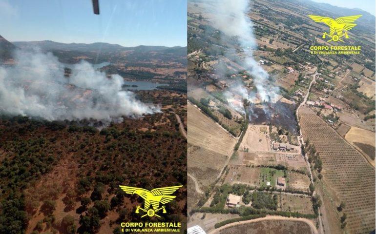 La Sardegna brucia ancora: oggi 16 incendi spenti dagli uomini del Corpo Forestale