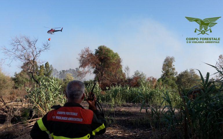 Ancora un incendio nelle campagne del cagliaritano: fiamme in un terreno a Settimo San Pietro