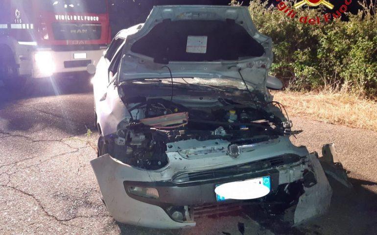 Brutto incidente in Ogliastra, auto si ribalta più volte: 42enne in codice rosso