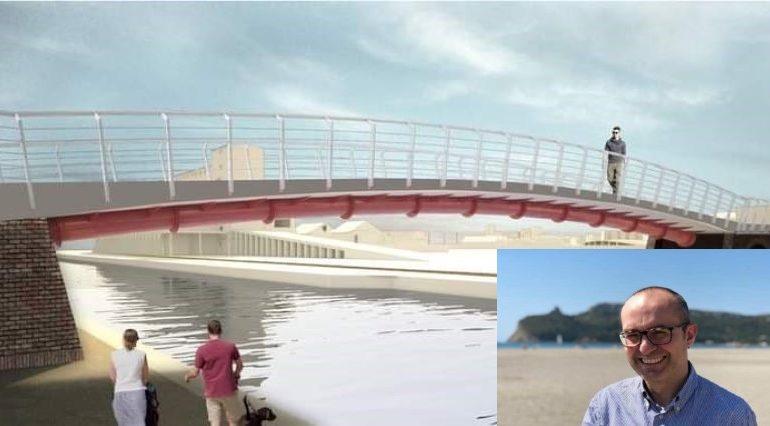 """Ponte ciclopedonale tra Su Siccu e Sant'Elia, inaugurazione in autunno? """"Cagliari è in attesa da anni: il quartiere sarà più vicino alla città"""""""