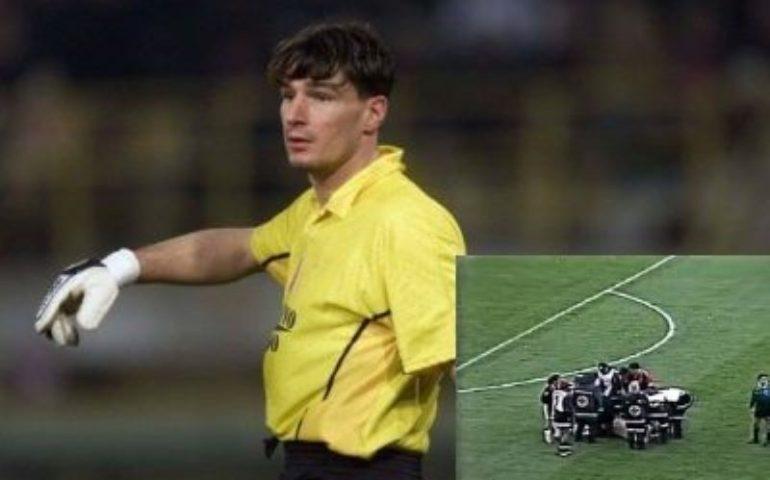 Ricordate? Simon Kjaer come Alessio Scarpi, quando il calcio è più di un gol: dall'ex portiere cagliaritano quell'intervento salvavita a Grassadonia