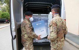 Sardegna, arrivati altri vaccini: consegnate quasi 80mila dosi. Il 50% dei sardi ha ricevuto prima inoculazione