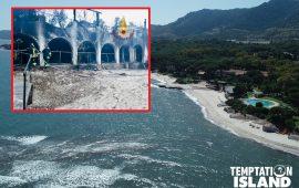 (FOTO) Pula, incendio doloso nell'hotel di Temptation Island: evacuate 60 persone, danni ingenti