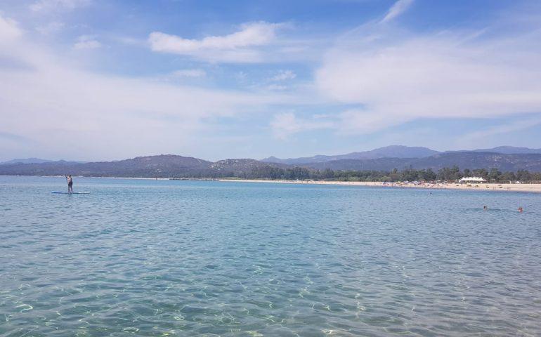 (VIDEO) Ogliastra, il mare in questa prima domenica di luglio: la spiaggia di San Gemiliano (Tortolì)