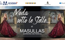 """""""Moda sotto le Stelle"""", al Giardino Botanico di Masullas sfila l'arte della Sartoria made in Sardinia"""