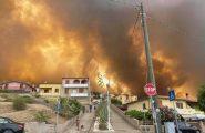 Incendi, le spaventose immagini da Porto Alabe