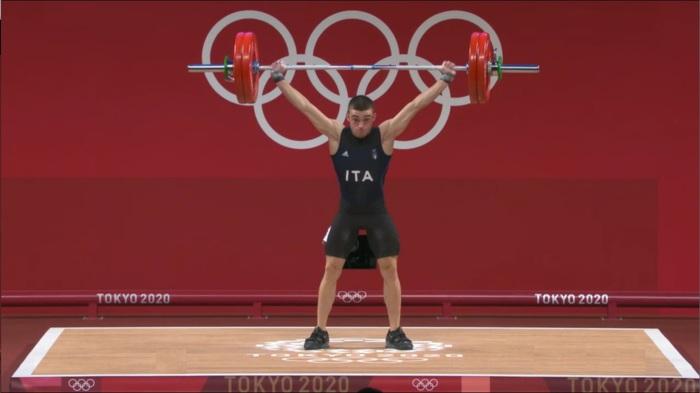Olimpiadi di Tokyo, il sardo Davide Ruiu sesto nel sollevamento pesi