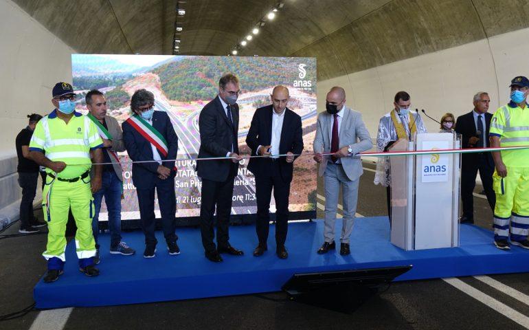 Nuova Orientale Sarda, inaugurato stamattina il tratto tra Tertenia e Osini