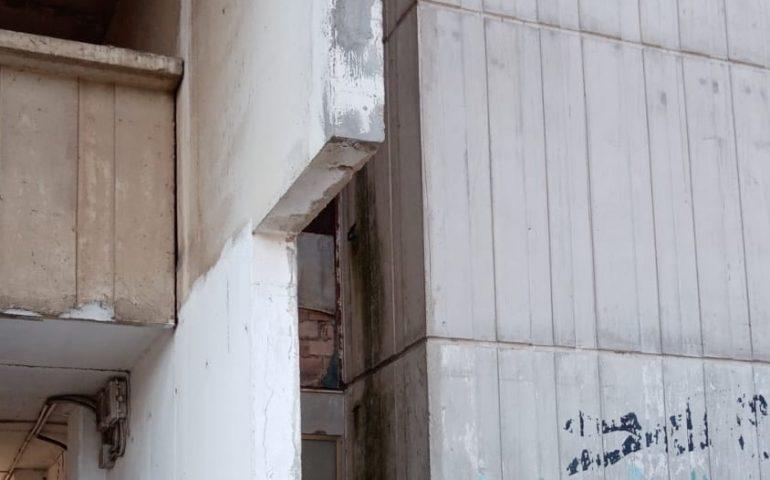 """(FOTO) A Sant'Elia piove cemento. Polastri: """"Interventi non più rinviabili. Relazione ad AREA"""""""