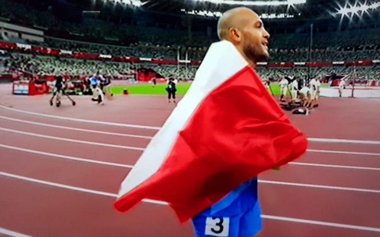Marcell Jacobs entra nella storia dello sport: medaglia d'oro nei 100 metri