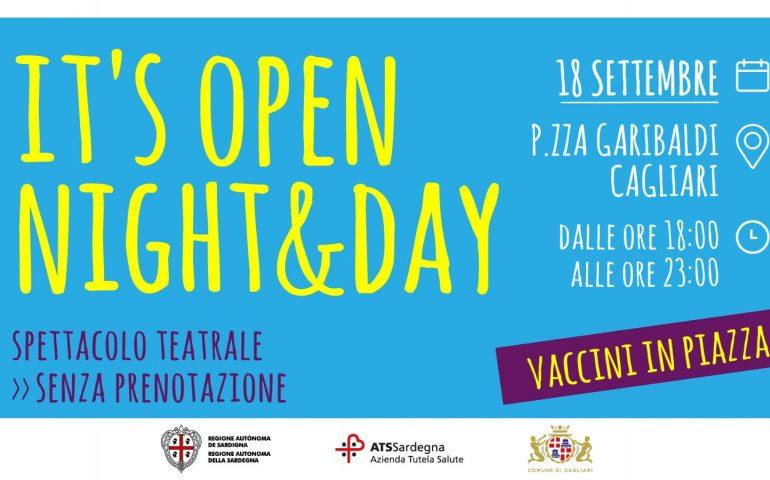 """Cagliari, il vaccino arriva in piazza: sabato in piazza Garibaldi è """"Open Night & Day"""""""