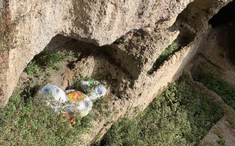 """Polastri: """"Via lo scempio dalle Tombe romane invase di rifiuti a Bonaria"""""""
