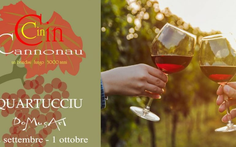 "La mostra itinerante ""Cin Cin Cannonau"" chiude in bellezza: a Quartucciu 10 giorni di appuntamenti"