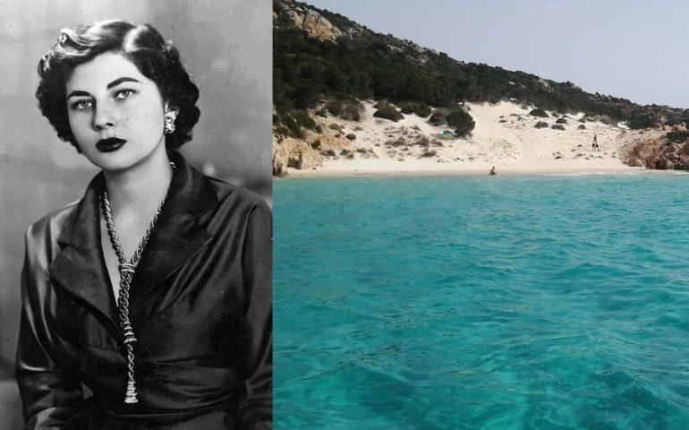 Lo sapevate? In Sardegna c'è una spiaggia dedicata a Soraya, la bellissima moglie dello Scià di Persia