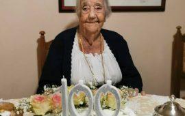 Ogliastra ancora campionessa di longevità. Tortolì festeggia i 100 anni di Mariuccia Demurtas