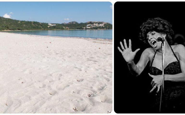 Lo sapevate? In Sardegna c'è una spiaggia bellissima che ha il nome della grande cantante soul Shirley Bassey