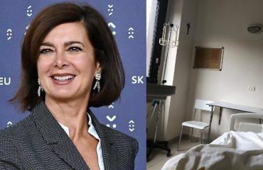 """Laura Boldrini dopo l'annuncio della malattia: """"L'operazione è andata bene"""""""