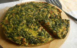La ricetta Vistanet di oggi: frittata di bietole selvatiche, piatto semplice e molto gustoso
