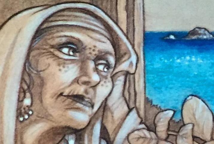 Lo sapevate? Maria di Eltili fu l'unica che riuscì a salvarsi dalla peste che si abbatté sul paese
