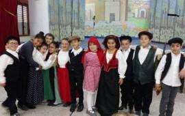 i bambini protagonisti dello spettacolo