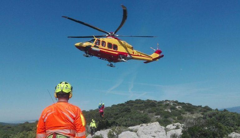 Ogliastra, donna ferita gravemente a Cala Mariolu: trasportata con l'elisoccorso in ospedale