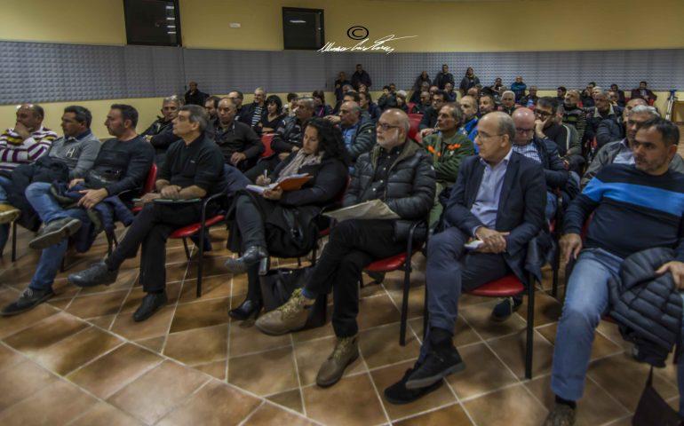 (FOTO) Jerzu, incontro Forestas: i primi a beneficiare della regionalizzazione dell'agenzia saranno gli operai OTD