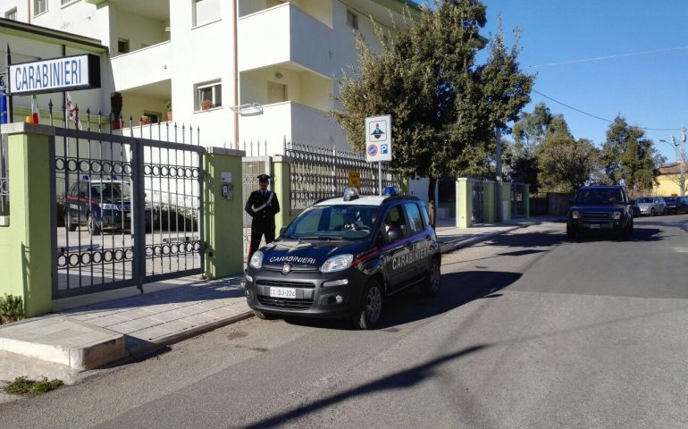 Dorgali, ladro in trasferta denunciato dai carabinieri