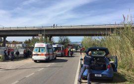 Grave incidente a Tortolì: scontro auto-scooter. Interviene l'elisoccorso