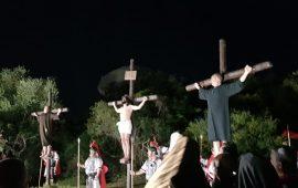 (PHOTOGALLERY) Un successo la Via Crucis vivente di Monte Attu