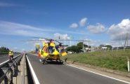 Frontale tra due auto: un uomo gravemente ferito trasportato all'ospedale in elisoccorso