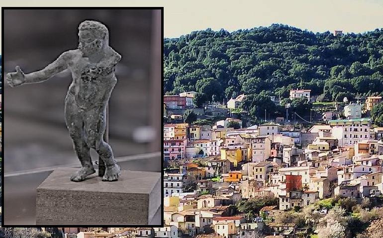 Lo sapevate? A Ussassai è stata ritrovata un'enigmatica statuina di Ercole nel centro del paese