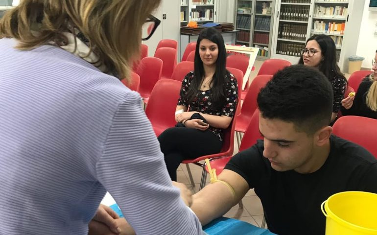 Donazione del midollo e delle staminali: gli studenti di Jerzu rispondono all'appello dell'ADMO