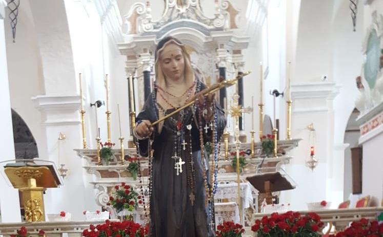 Oggi Tortolì festeggerà Santa Rita. La storia della santa delle cause impossibili