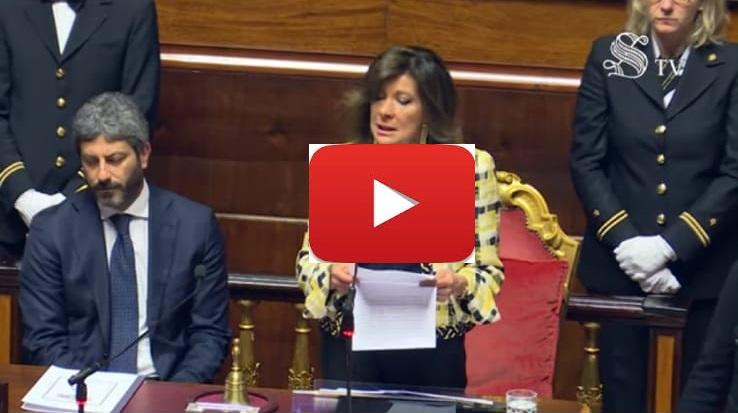 """(VIDEO) Lo speciale di """"Senato TV"""" sulla premiazione della 1B ITC Tortolì per il video """"ArMAti di Costituzione"""""""