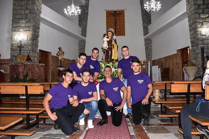(FOTO) Grande festa a Jerzu per onorare Sant'Antonio da Padova
