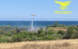 Giornata di incendi sull'Isola: a fuoco anche le campagne di Seui e Nuoro