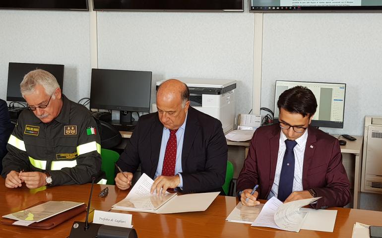 Convenzione Vigili del Fuoco/Regione per la campagna antincendi 2019: stanziati 600mila euro