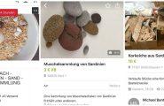 """""""Souvenir"""" trafugati dalla nostra Isola in vendita su Ebay"""