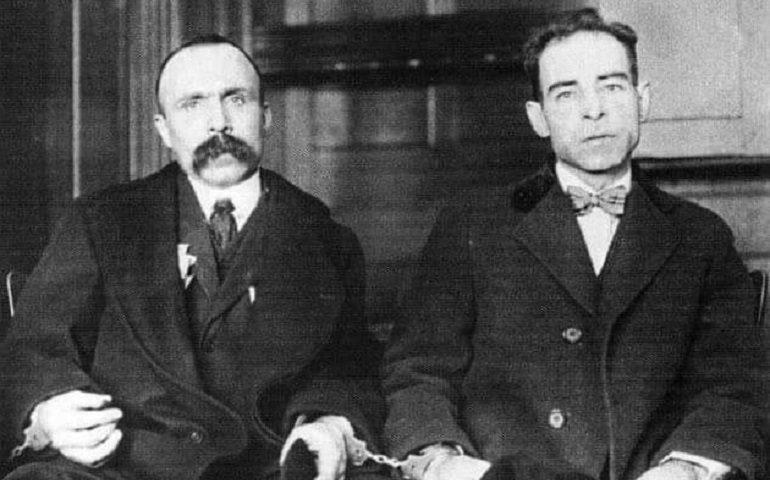 Chi ricorda Sacco e Vanzetti, i due italiani innocenti giustiziati in America? Oggi ricorre l'anniversario della loro morte