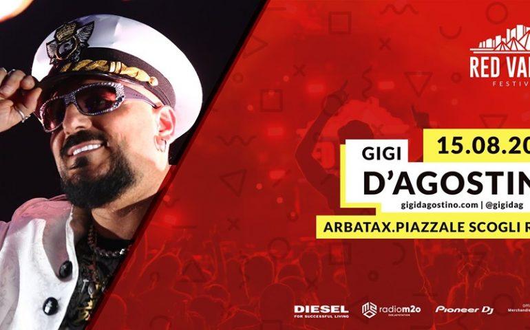 Arbatax, Red Valley Festival: si parte il 15 agosto con il Capitano Gigi d'Agostino
