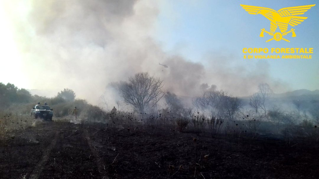 Sardegna che brucia: ieri 8 incendi, fiamme anche a Seui e Osidda