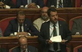 Salvini risponde a Conte: «Rifarei tutto quello che ho fatto »