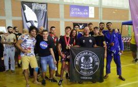 Pioggia di medaglie a Cagliari per gli atleti ogliastrini di Brazilian Ju Jitsu