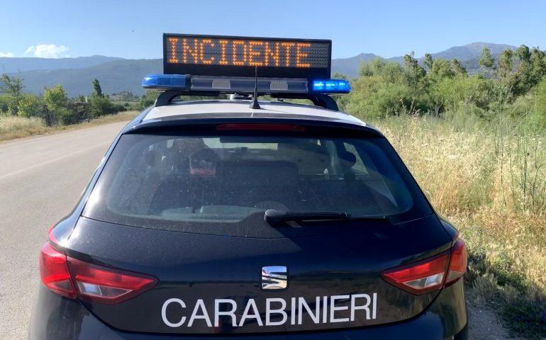Incidenti nel nuorese, i carabinieri tirano le somme: quest'anno 650 sinistri stradali, di cui 7 mortali