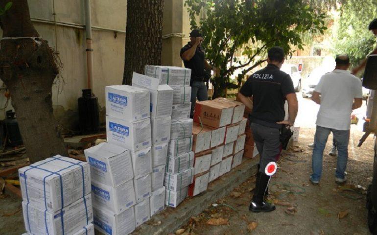 Siniscola, sequestrati 760 kg di cibo trasportato in condizioni non idonee