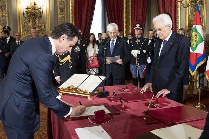 Governo: Giuseppe Conte e i suoi ministri giurano al Quirinale