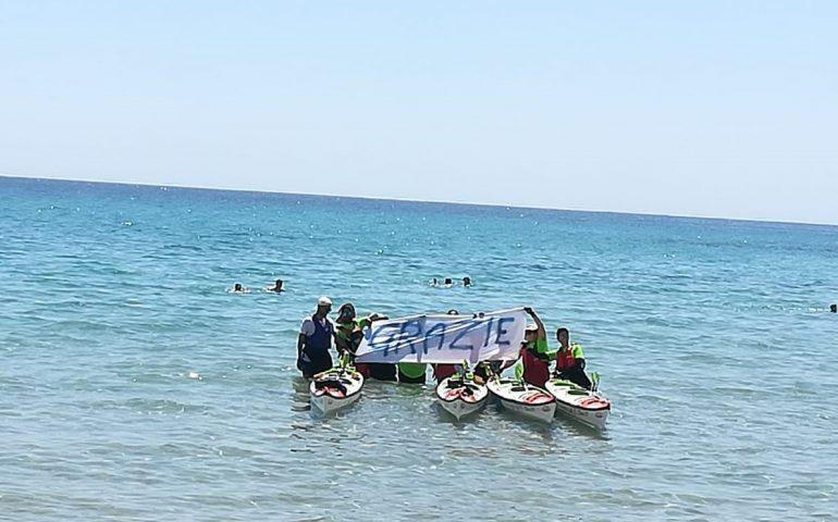 Strange for life, in kayak contro i tumori: con la somma raccolta, comprate 12 poltrone per i malati