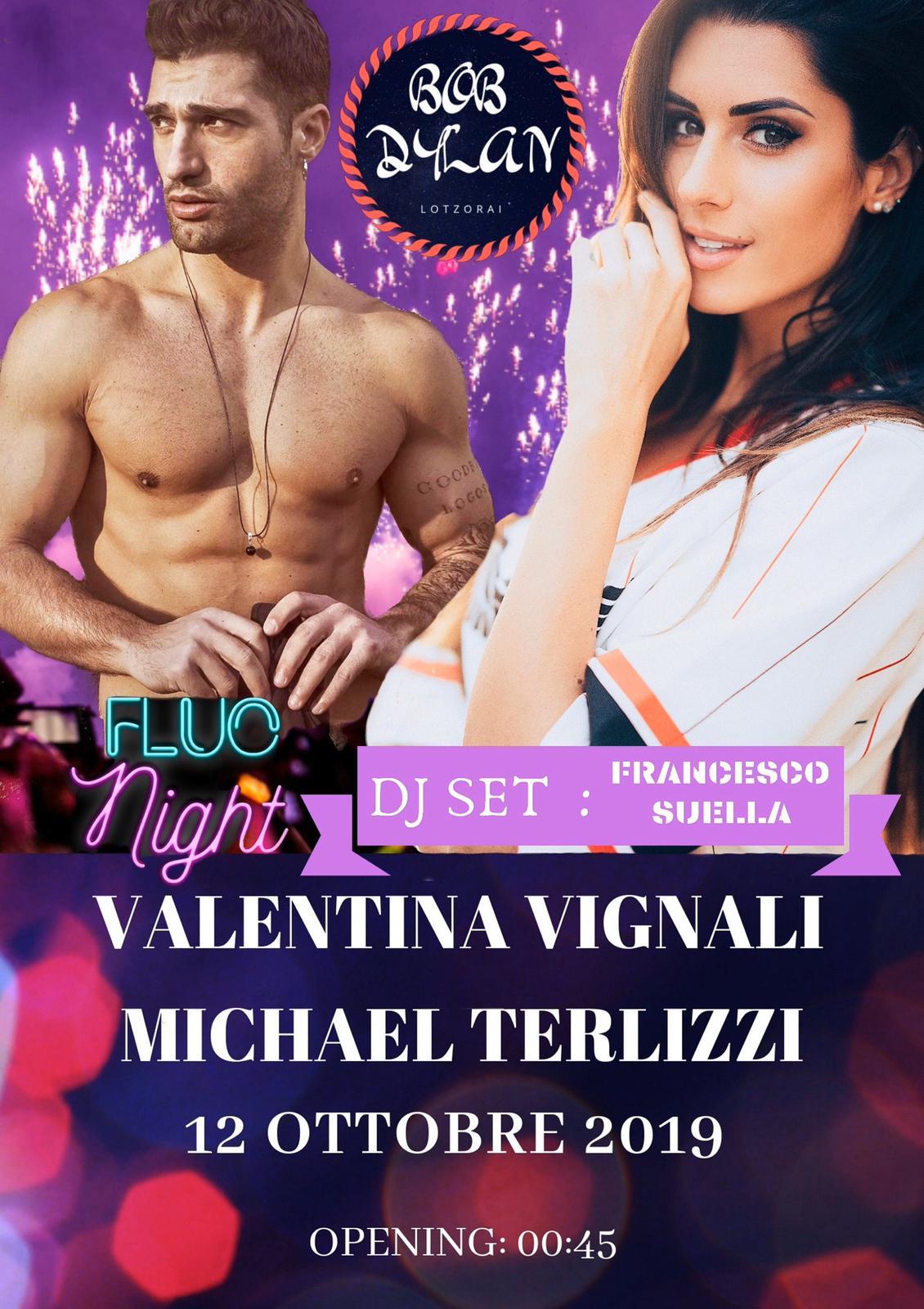 Evento speciale al Bob Dylan disco-club di Lotzorai: ospiti Valentina Vignali e Micheal Terlizzi dal Grande Fratello