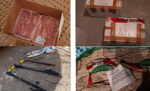 Guardia Costiera: maxi sequestro di gamberi, sanzioni e fermo di un peschereccio